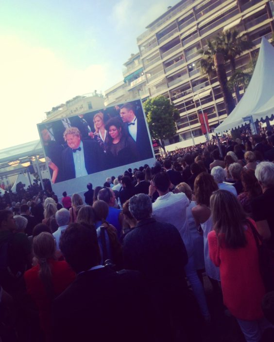 Richard Nilsson Cannes Red Carpet
