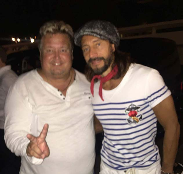 Richard Nilsson and Bob Sinclar