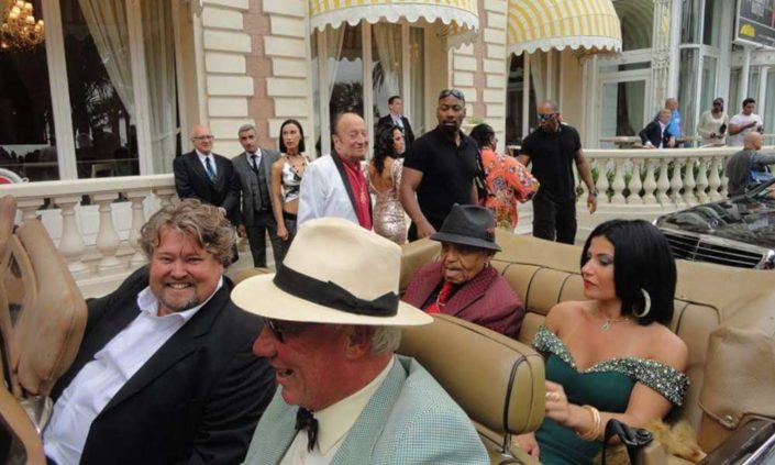 Richard Nilsson and Joe Jackson in Cannes