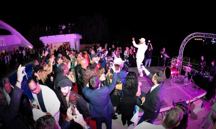 Villa Oxygene party and event